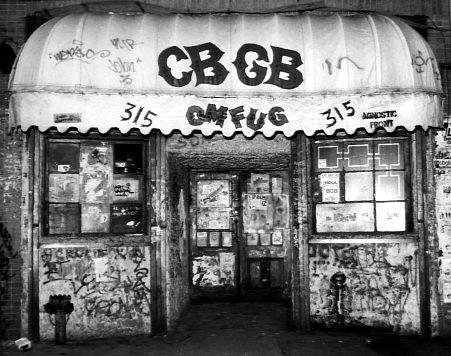 CBGB bowery OMFUG rock punk